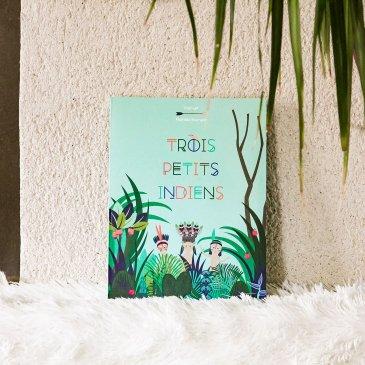 Livre Trois petits indiens