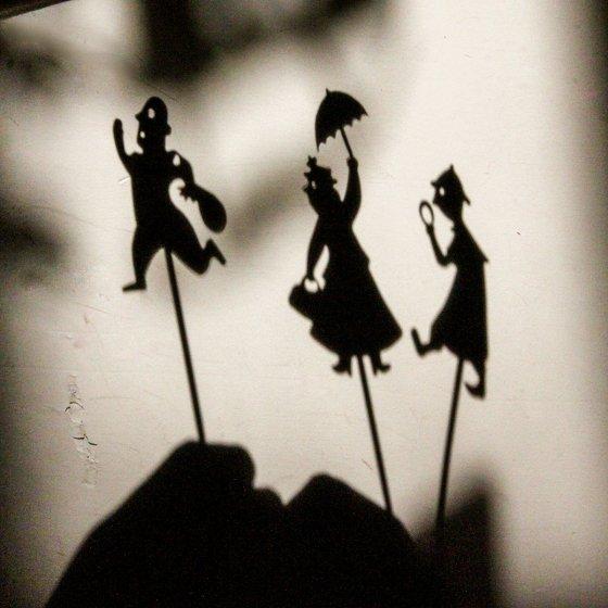 Jeu d'ombres du soir