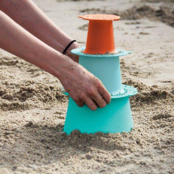 Constructeur de châteaux de sable