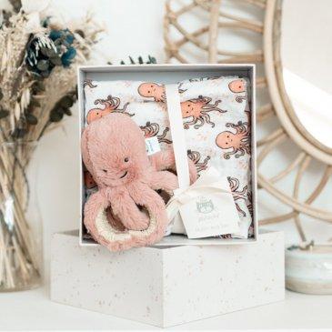 Coffret de naissance Odell la pieuvre
