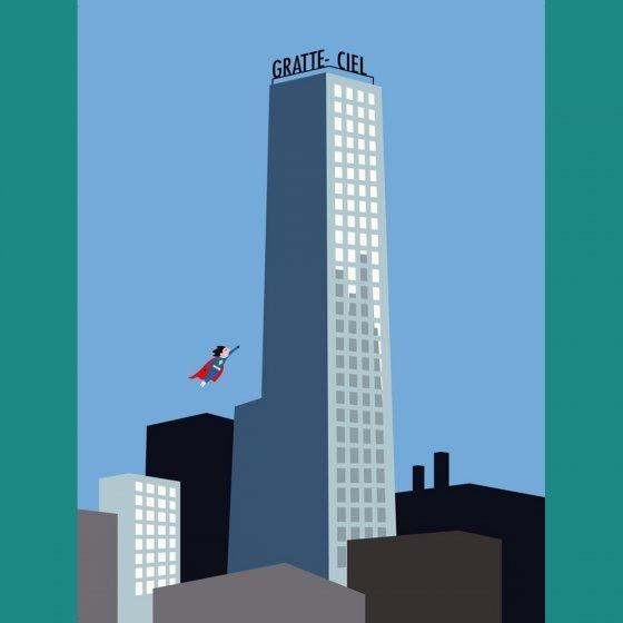 Livre géant - La ville