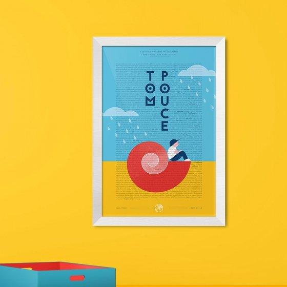 Un conte en une affiche