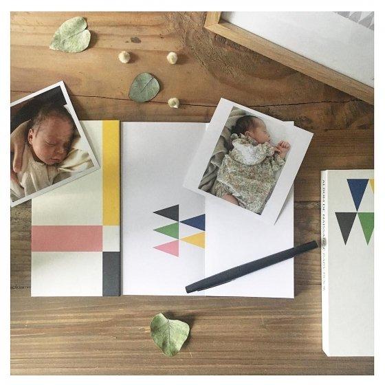 Livre de naissance DIY