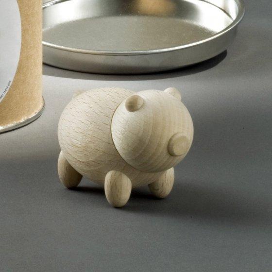Mini figurines en bois