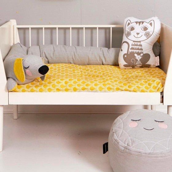 Un tour de lit qui a du chien