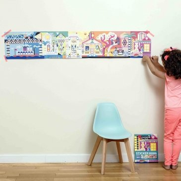 Une affiche à créer avec des gommettes