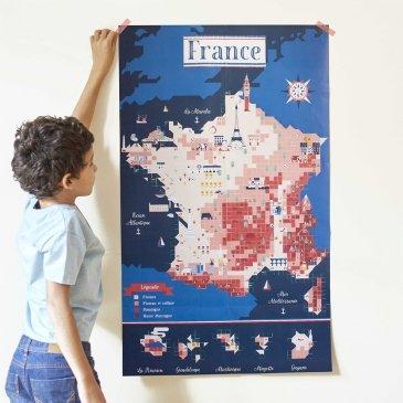Créer une affiche géante avec des gommettes