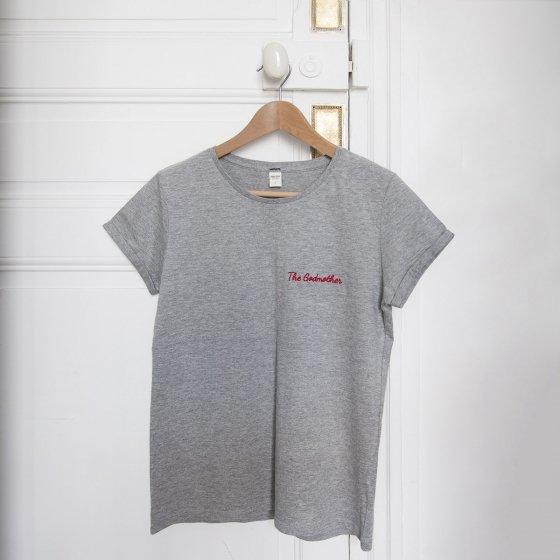 T-shirt femme brodé personnalisé