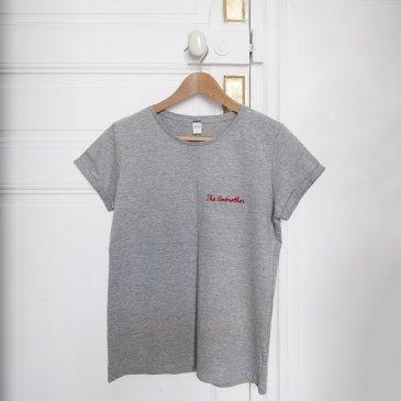 Le t-shirt papa brodé personnalisé