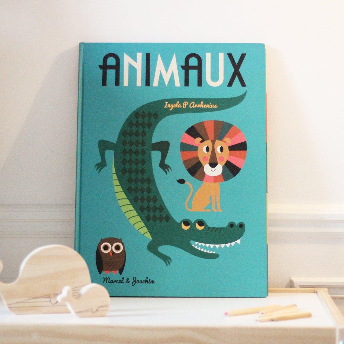 Livre Geant Sur Les Animaux Ingela Arrhenius