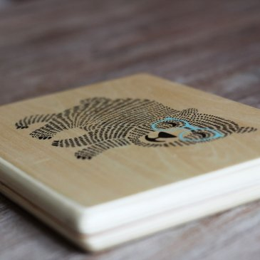 Ordinateur en bois