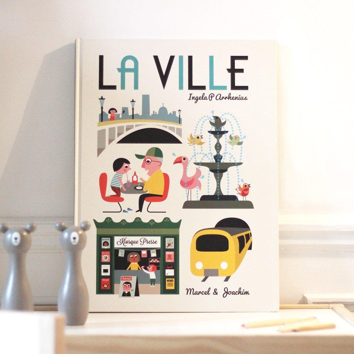 La ville by Ingela Arrhenius