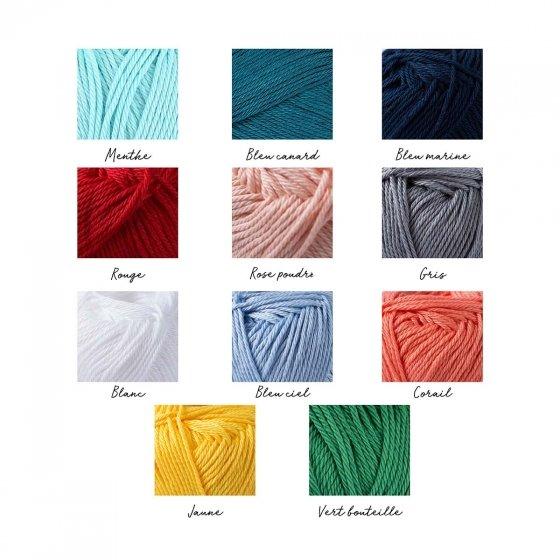 Prénom en tricotin
