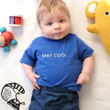T-shirt Baby Cool ou Cool Kid