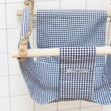 Balançoire d'intérieur en tissu