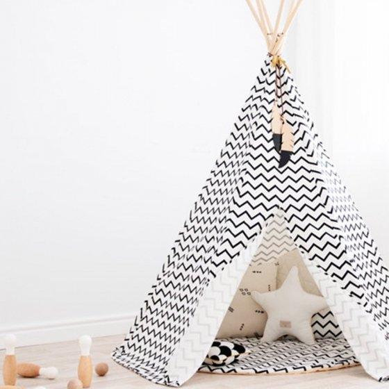 tipi zigzag les petits raffineurs. Black Bedroom Furniture Sets. Home Design Ideas