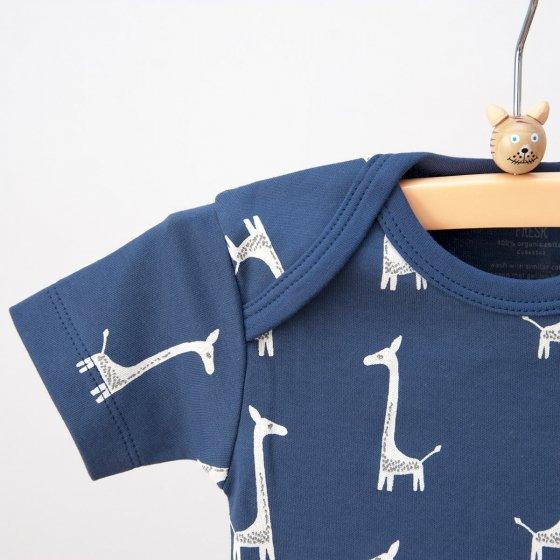 Cardigan et body girafes