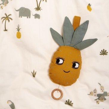 Boîte à musique ananas