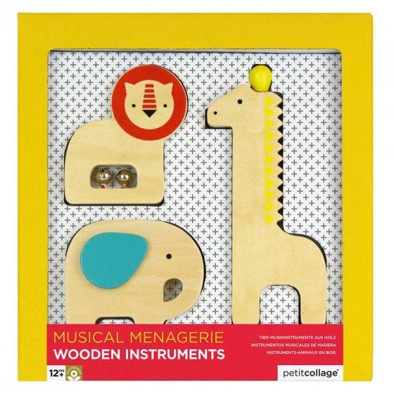 Instruments de musique en bois