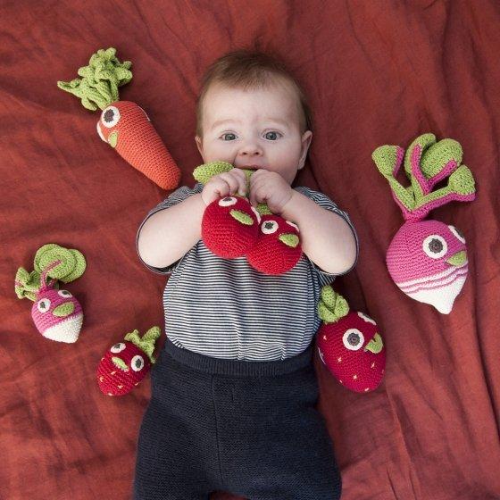Hochets fruits et légumes