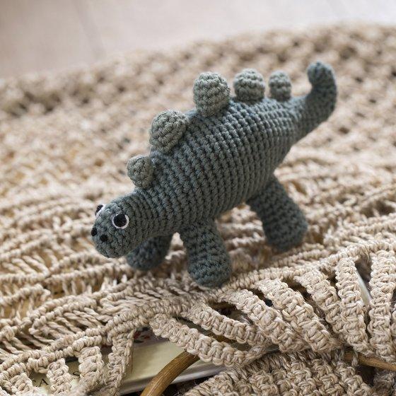 Hochet au crochet Sebra