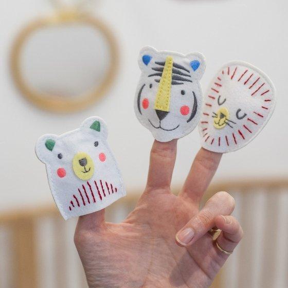 Marionnettes de doigts