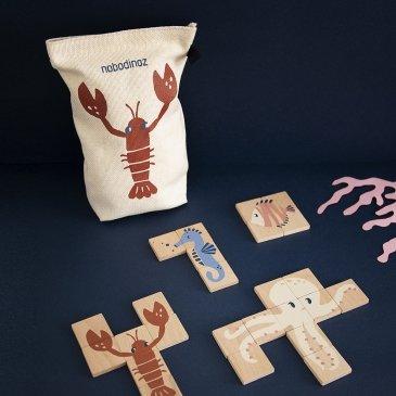 Puzzle Animaux Marins