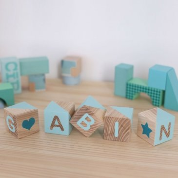 Cubes prénom