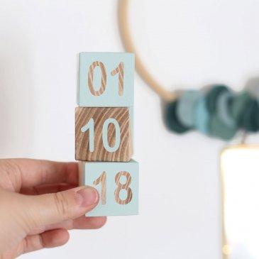 Cubes date de naissance