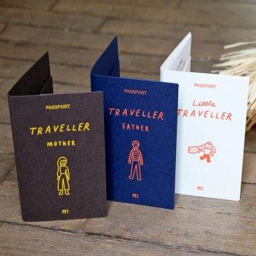 Porte-passeport pour toute la famille