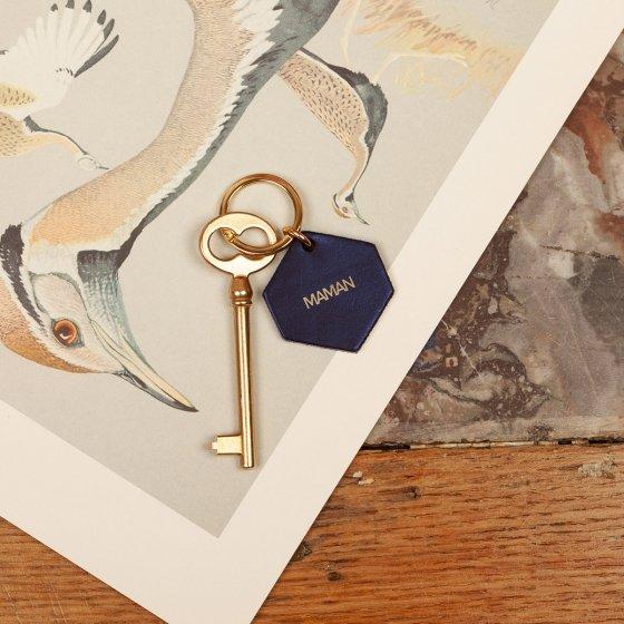 Porte-clés en cuir pour maman