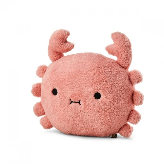 Coussin peluche crabe