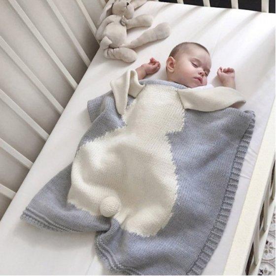 Couverture en coton biologique