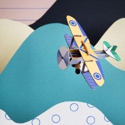 Bateau et avion en 3D