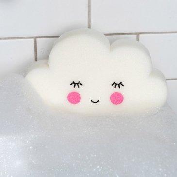 Éponge de bain nuage