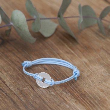 Duo de bracelets personnalisés papa-enfant