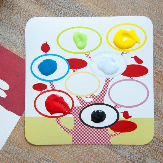 Kit de peinture à doigts