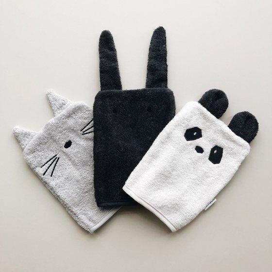 Set de trois gants marionnettes