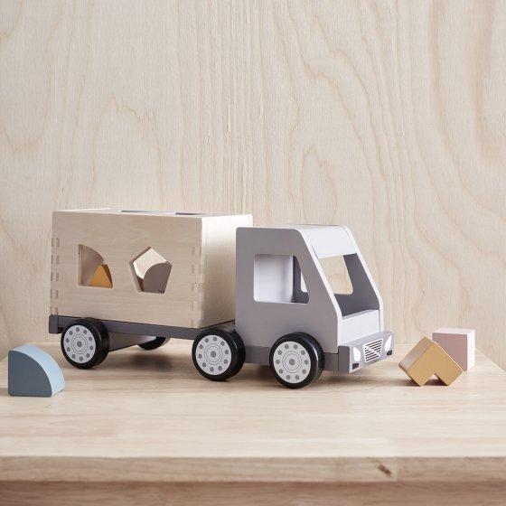 Camion boîte à formes