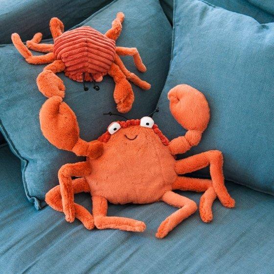 Crabe en peluche