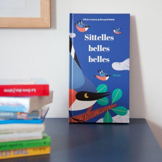 Sittelles belles belles, livre pop-up