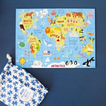 Puzzle de voyage