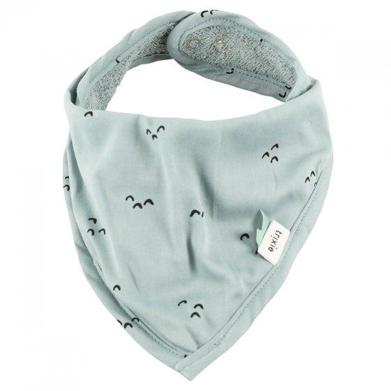 Bavoir bandana en coton biologique