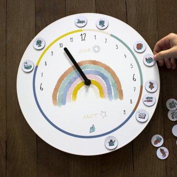 Horloge Montessori