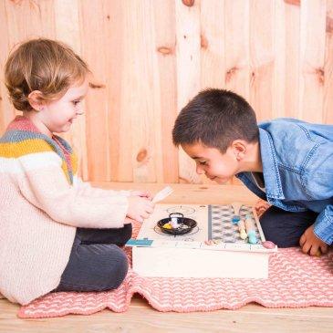 Malette duo jeux : cuisine et ville