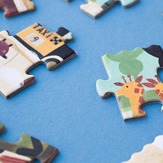 Puzzle 50 pièces Vroom Vroom